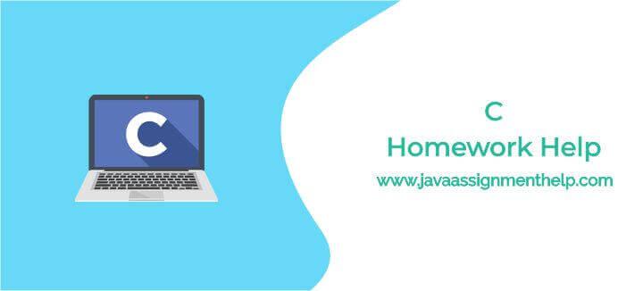 C-Homework-help