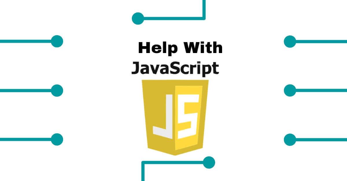 Homework help javascript