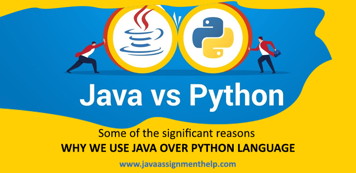 Some of the significant reasons why we use java over python language