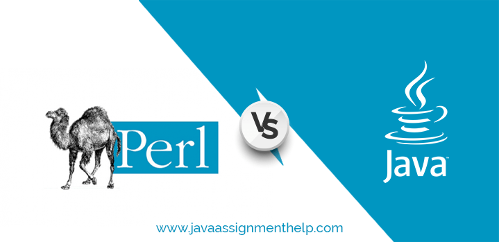 Get the comparison of Perl vs Java in tabular form in detail