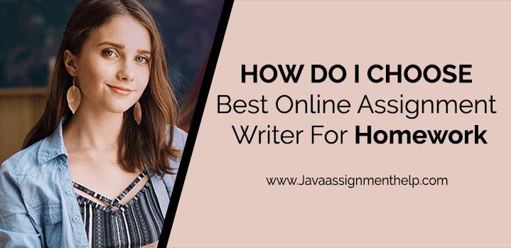 online assignment writer