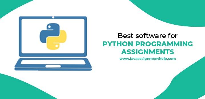 best software for python programming