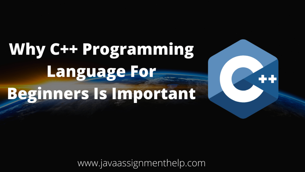 why c++ programming language for beginners is important