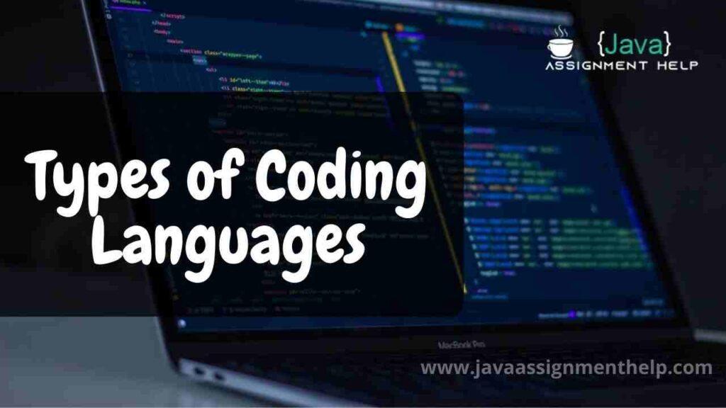 Types of Coding Languages